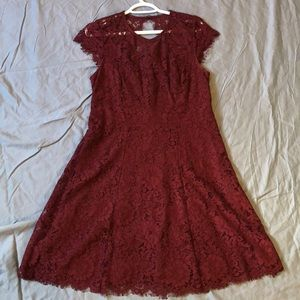 Ricki's A line All Over Lace Dress